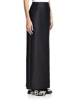 $1590 NEW THE ROW Shiya Skirt Maxi Long Wool Black 4