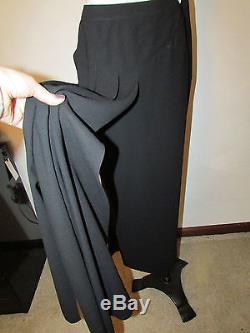 $1870 CHANEL Boutique 99P maxi pencil skirt with hanging carwash panels 38 FR