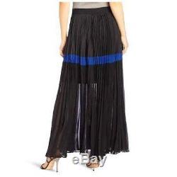 $218 Nwt Bcbg Maxazria Dalin Pleated Long Maxi Skirt Xs