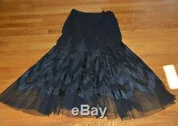 $5,500 Ralph Lauren 50th Anniversary Micah Purple Label Maxi Dress Long Skirt 10