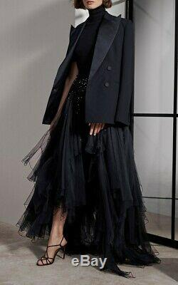 $5,990 Ralph Lauren Collection Purple Label Sonnet Tulle Maxi Dress Long Skirt 6