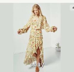 57. NWT Spell & The Gypsy Sumflower Maxi Skirt XXS Runs Big Rare