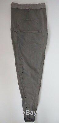 $735 NWT Authentic RICK OWENS DRKSHDW SOFT PILLAR Maxi Long Skirt XS