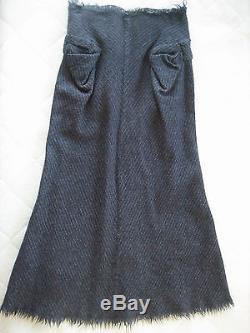 AD2003 Junya Watanabe Comme des Garcons Heavy Wool Skirt