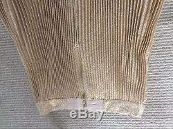ALICE OLIVIA Katz Sunburst Pleated Maxi Skirt Metallic Gold $495 NEW 2016 FALL