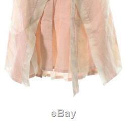 ANN DEMEULEMEESTER Skirts 211793 WhitePink 36