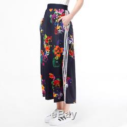 Adidas Originals Floral Maxi Skirt Rita Ora Dress Womens UK 8 UK 12 Top AZ3242