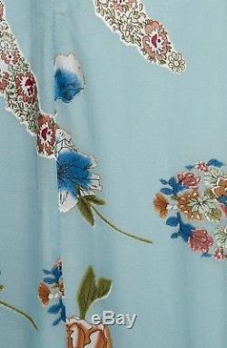 Alice & Olivia Athena Floral Silk Maxi Skirt Size6 $595 NWT