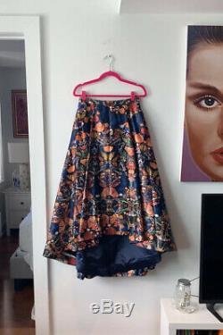 Alice & Olivia Nola butterfly print skirt 8