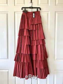Alice and Olivia dark red ball gown maxi Joellen Skirt -NWT, originally $1,000