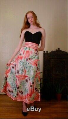 Amazing Pucci 60's Long Maxi Tropical Print Skirt Excellent condition! 25w Small