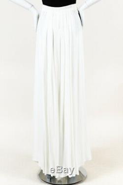 Ann Demeulemeester Pleated Buckle Maxi Skirt SZ 40