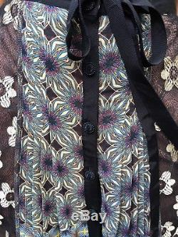 Anthropologie Beguile Byron Lars Petal Patch Maxi Gypsy Skirt NWT XS 0