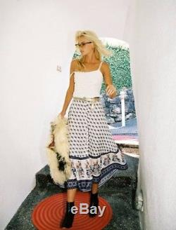 Arnhem / NWT Moondance Maxi Skirt in Jasmine 10AU Boho Beach Gypsy Festival