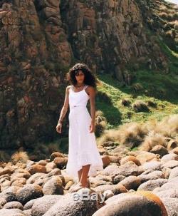 Arnhem / Stevie Lace Skirt in White Size 8AU Boho Beach Gypsy Festival