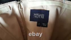 Auth New Marchesa Notte Black Strapless Tulle-skirt Gown $1295 Sz. 2