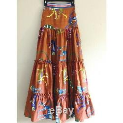 Authentic STELLA JEAN Skirts With monkeys Size IT 36 $646. NWOT SOLD OUT