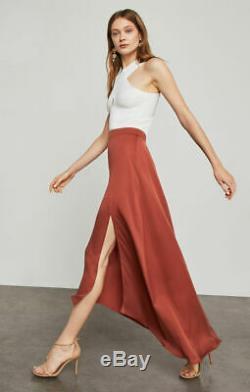 BCBG Maxazria Jillian Asymmetrical Maxi Skirt Size XS