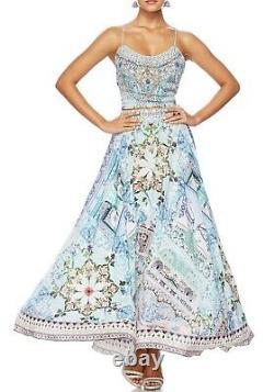 BNWT Camilla Silk Lovers Retreat Circle Maxi Skirt