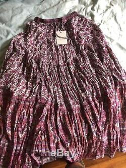 BNWT Spell Designs Jasmine Maxi Skirt Lilac Size M