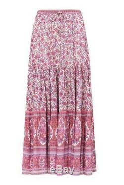 BNWT Spell Designs Jasmine Maxi Skirt Lilac Size S