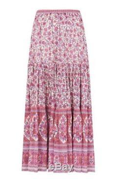 BNWT Spell Designs Jasmine Maxi Skirt Lilac Size XS