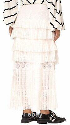BNWT Zimmermann Maples Freedom Skirt Size 2 RRP $1995