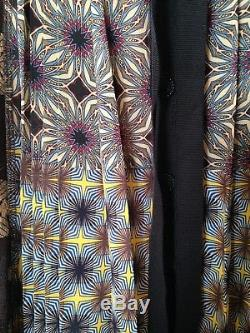 Beguile by Byron Lars Anthropologie Petal Patch maxi skirt 12 L boho patchwork