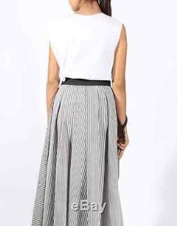 Brunello Cucinelli Long Maxi Skirt Cotton blend sz S NWT $ 1775 + tax