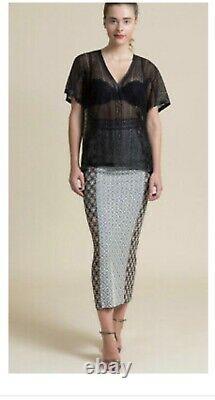 Byron Lars maxi Skirt sz 4