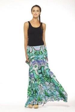 CAMILLA A Land Of Wonder Long Maxi Silk Skirt