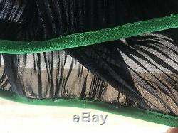CELINE Phoebe Philo Gorgeous Long Plisse Silk Skirt Sz 38 $3500