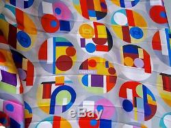 Chanel 14k Nwot 2014 Pop Art Logo Print Vibrant Silk Maxi Skirt- 38 New