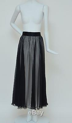 CHANEL Most Wanted Runway And Chanel Add'09 Long Skirt NEW 40