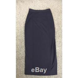 CHANEL Size 40 (6 Small) Black Long Maxi Skirt NWT