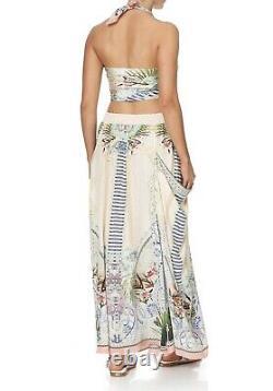 Camilla Franks Beach Shack Shirred Waist Pocket Skirt Free Size