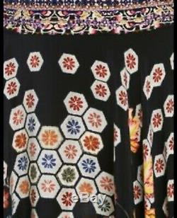 Camilla Ladies Painted Land Circle Skirt/ Dress Size Small Great Condition