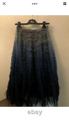 Christian Dior Autumn/Winter 2017/2018 RUNWAY Tulle Skirt Size 6 $8500