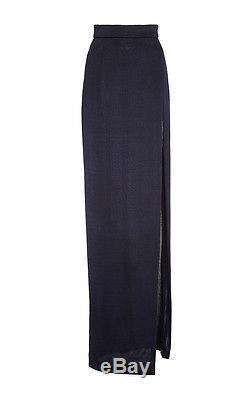 Cushnie Et Otchs Runway High Slit Maxi Skirt