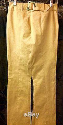 Dolce & Gabbana Maxi Khaki Skirt