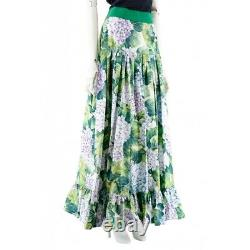 Dolce&Gabbana Maxi Women's Skirt Green