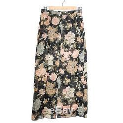 Dolce & Gabbana Multi Color Floral Viscose Long Skirt Maxi Straight High Waist S