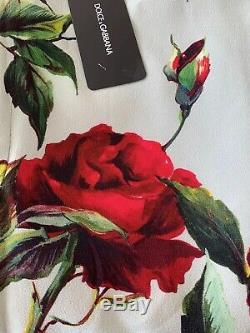 Dolce Gabbana Roses Maxi skirt. IT 40 NWT