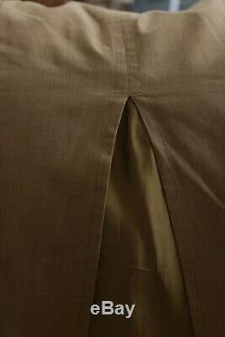 Dries van Noten Brown Maxi Cotton Skirt Size 38