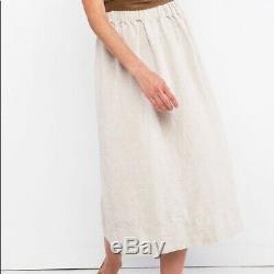 Elizabeth Suzann Bel Skirt in size XS Flax linen