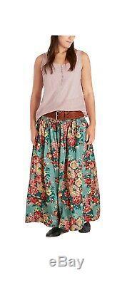 Ewa i Walla Long Floral Skirt One Size