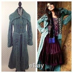 Free People Budapest Maxi Cardigan Sweater Like Spell & The Gypsy Talulah M Rare