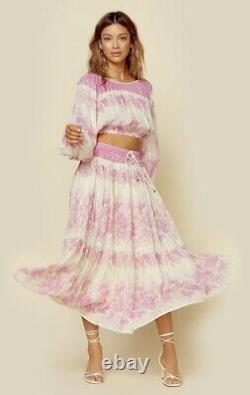 Free People Coco Lei Maxi Skirt x Spell & The Gypsy Collective Size S $219