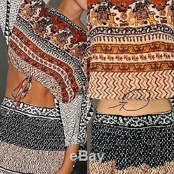Free People Global Set Maxi Skirt Size Xs