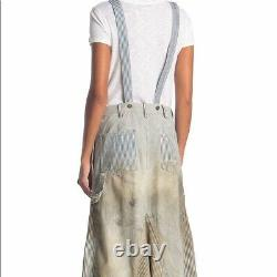 Free People Heritage Shirtall Distressed Vintage Womens XS and S NEW